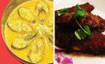 ভাপা ইলিশ ও কোরাল মাছ এর ২টা রেসিপি - shajgoj