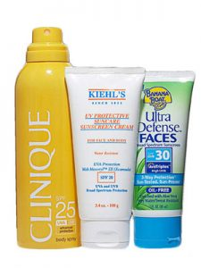 sunscreens clinique