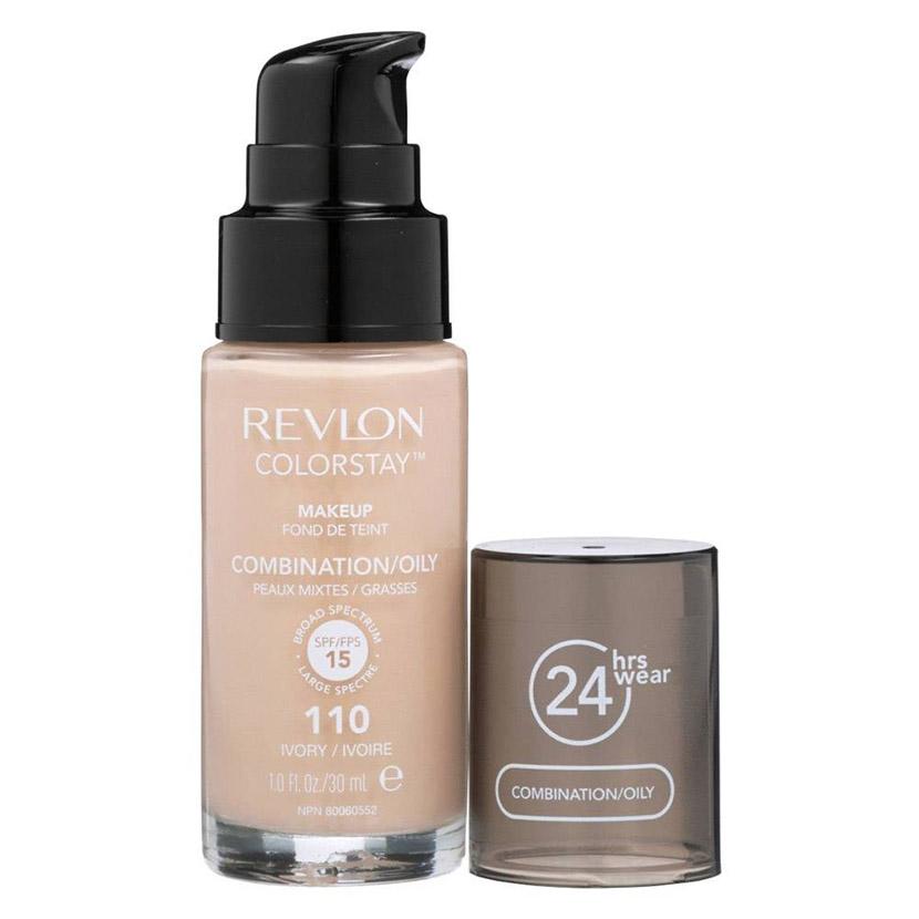 তৈলাক্ত ত্বকের মেকআপে Revlon Colorstay 24hours Foundation - shajgoj.com