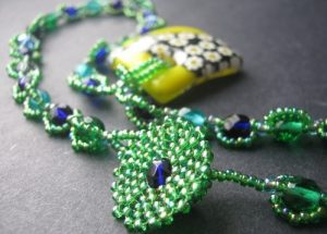yellow_millefiori_pendant