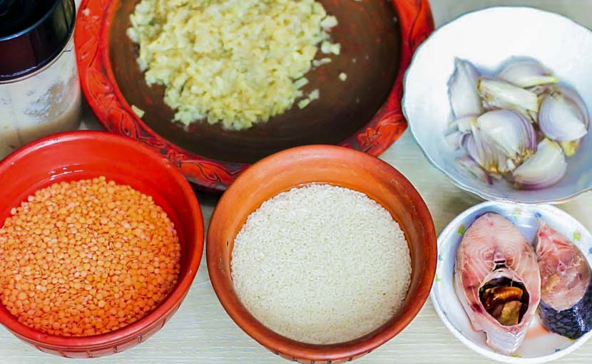 ৬-১২ মাস বয়সের শিশুর বর্ধিত খাবার তালিকায় মাছ, ডাল ইত্যাদি - shajgoj.com