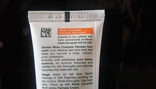 garnier-facewash-review- pic 2