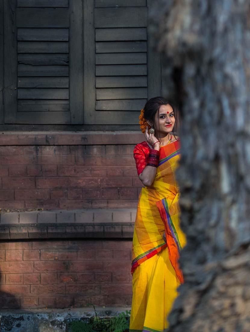 ফাল্গুনে মেকআপ সাজ - shajgoj.com