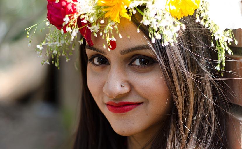 ফাল্গুনে বাসন্তী রানী - shajgoj.com