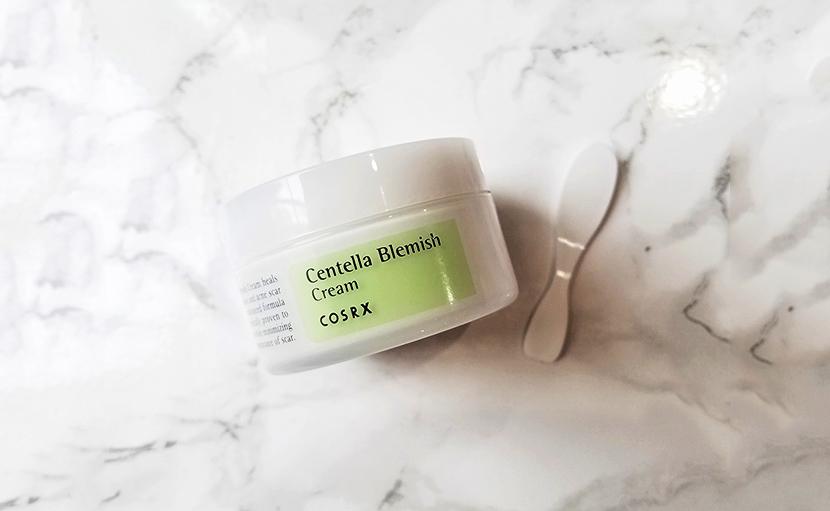 মুখে ব্রণ দূর করতে COSRX centella blemish cream - shajgoj