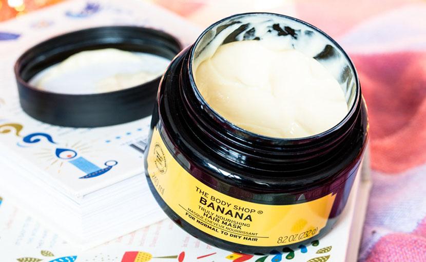 চুলের পুষ্টি জোগাতে সিলিকনমুক্ত The Body Shop Banana Truly Nourishing Hair Mask এর ছবি - shajgoj