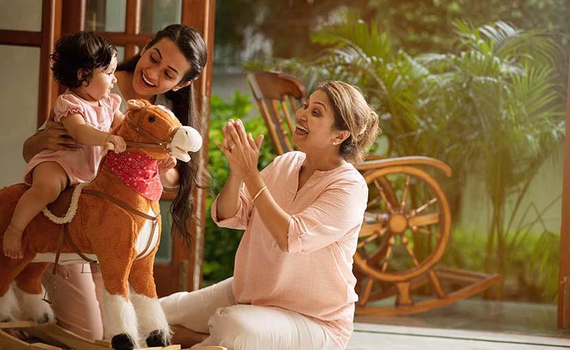 নতুন সংসার এ শ্বশুরবাড়িতে বাচ্চা ও বড়দের সাথে মিশুন - shajgoj