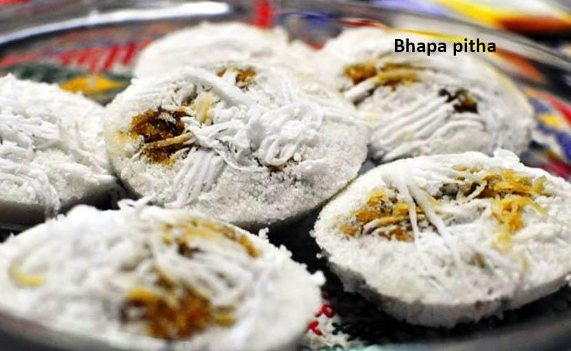 শীত ও নবান্নের ভাপা পিঠা - shajgoj