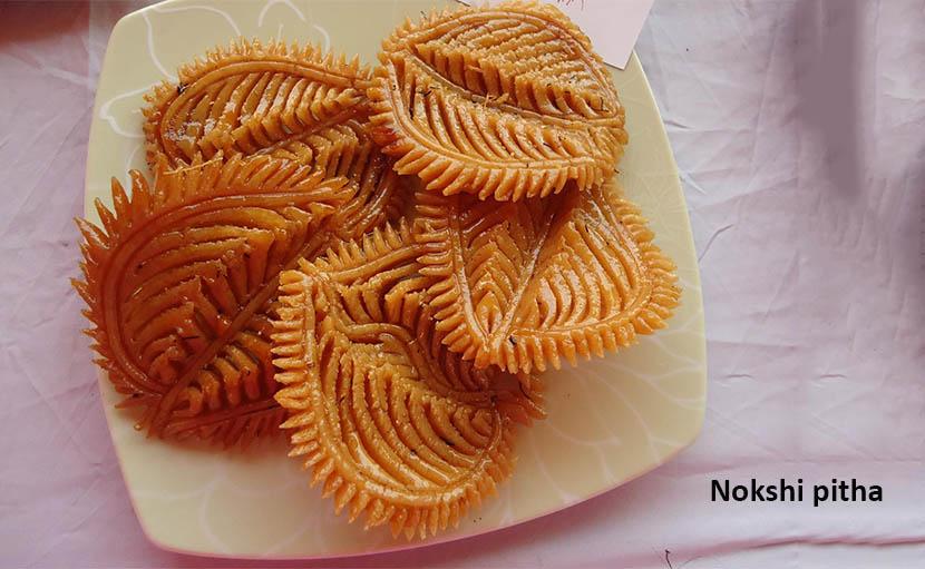 শীত ও নবান্নের নকশী পিঠা - shajgoj