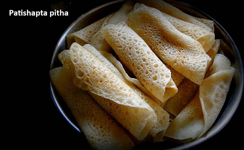 শীত ও নবান্নের পাটিসাপটা পিঠা - shajgoj
