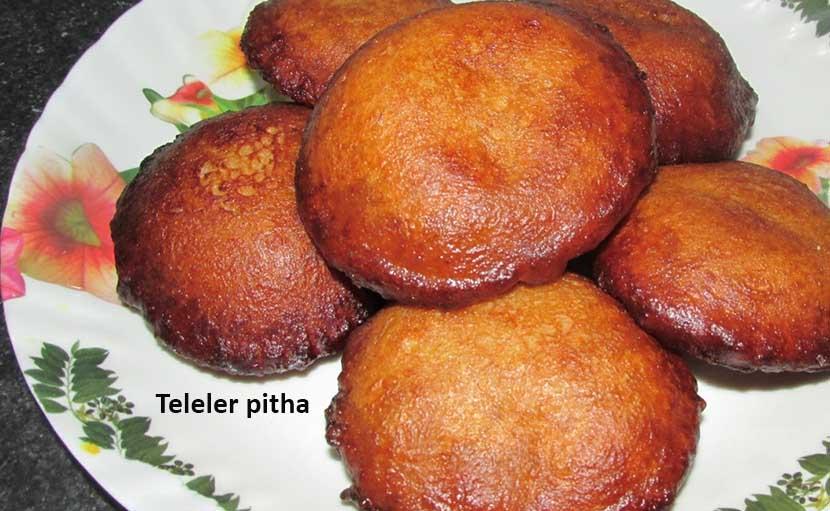 শীত ও নবান্নের তেলের পিঠা - shajgoj