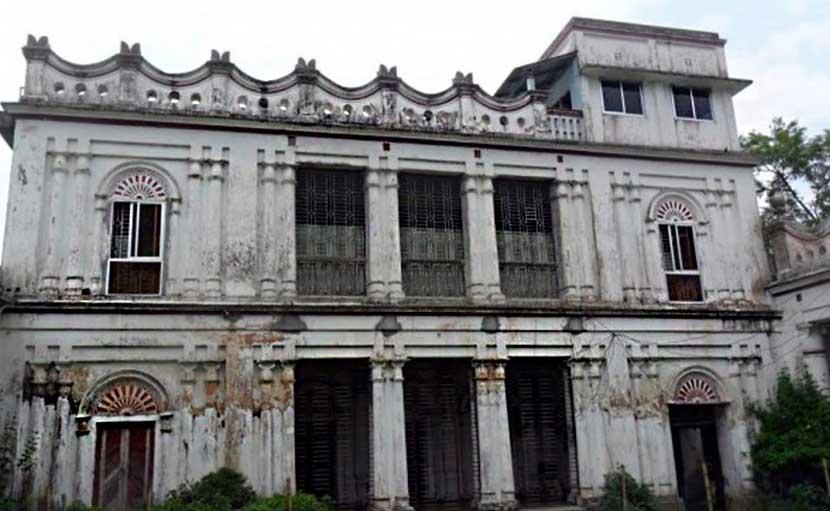 গাঙ্গাটিয়া জমিদার বাড়ির কাছারি ঘর - shajgoj.com