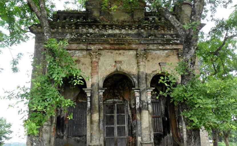 গাঙ্গাটিয়া জমিদার বাড়ির মন্দির - shajgoj.com