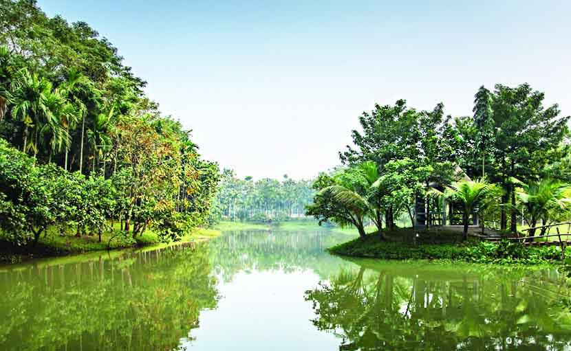 জিন্দা পার্কে জলাধার - shajgoj.com