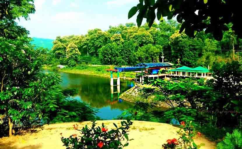 কাপ্তাই লেকে শেখ রাসেল ইকোপার্ক - shajgoj.com