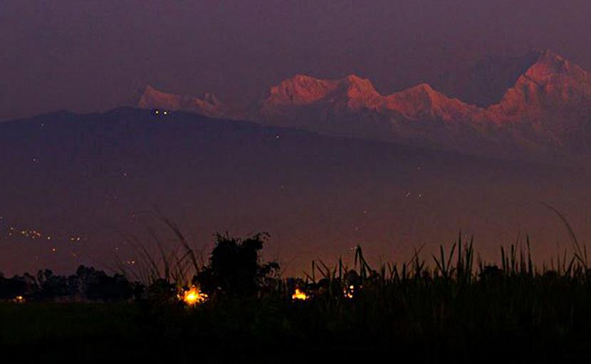 তেঁতুলিয়া থেকে কাঞ্চনজঙ্ঘা - shajgoj.com