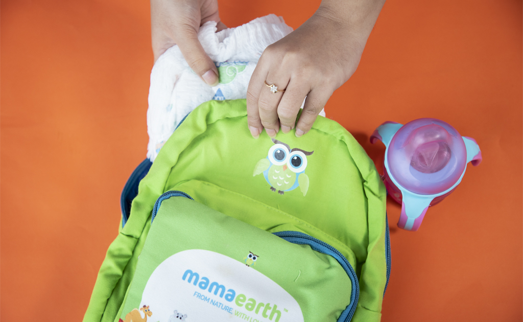Mamaearth baby care essential bag
